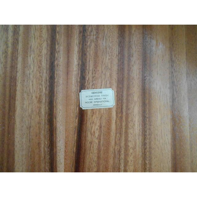 Koa Wood Trays - A Pair - Image 7 of 7