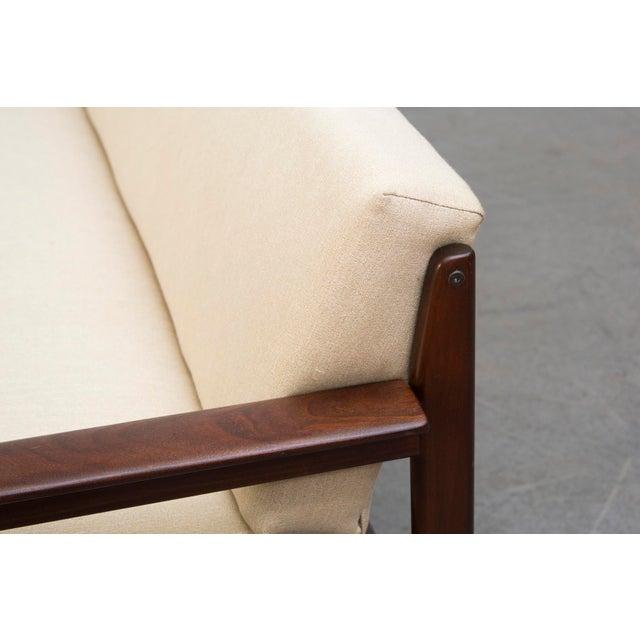 Image of Mid-Century Sofa Chair in Bone