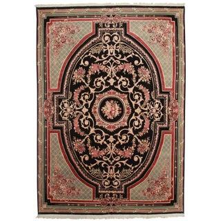 RugsinDallas Hand Knotted Wool Pakistani Rug - 9′9″ × 14′2″