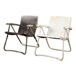 Mid-Century Lawn Chairs - A Pair