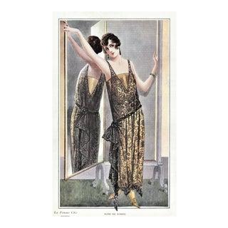 Art Deco Fashion Print