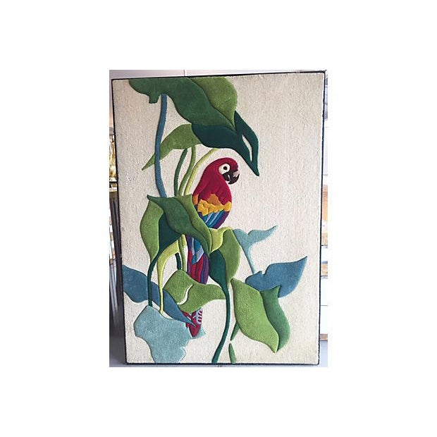 Parrot and Trees Tapestry - Image 2 of 8