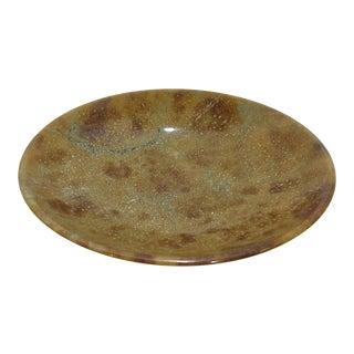 Vintage Tan Marble Bowl