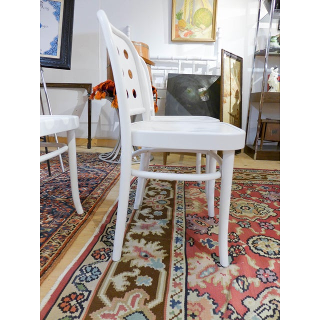 Bentwood & Ply Seat Dining Chairs - Set of 4 - Image 3 of 6