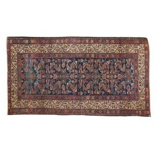 "Antique Hamadan Rug - 3'4"" X 6'2"""