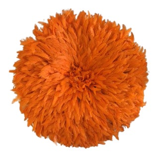 Boho Juju Orange Hat Wall Home Decor