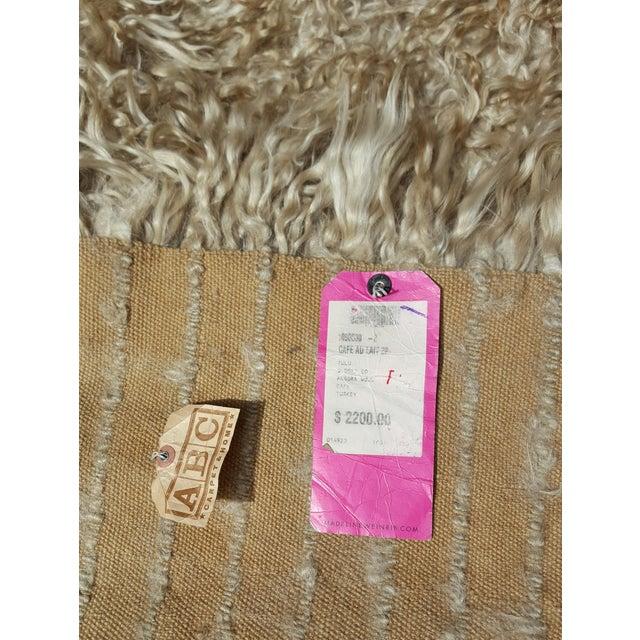 """Madeline Weinrib Mongolian Wool Rug - 8' x 10"""" - Image 5 of 5"""