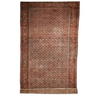 RugsinDallas Antique Hand Knotted Wool Persian Farahan Rug - 14′6″ × 27′
