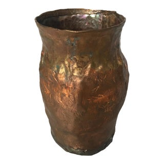 Hand Forged Copper Vessel