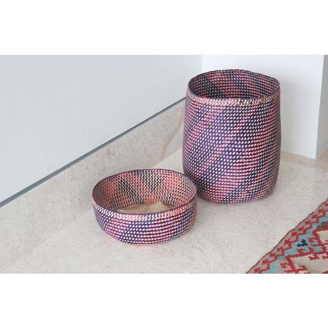 Image of Hand-Woven Oaxacan Basket