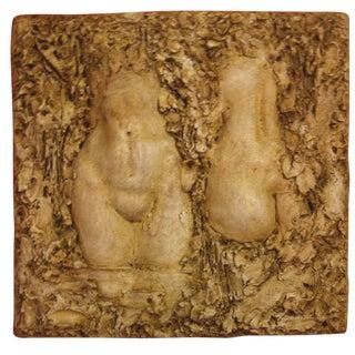 Mid-Century Torso Relief Sculpture
