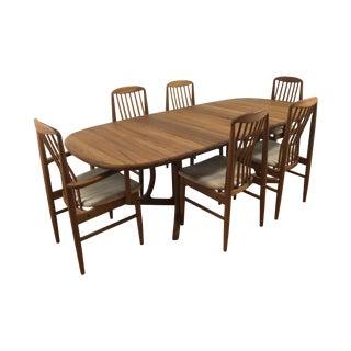 Benny Linden Mid-Century Modern Teak Dining Set