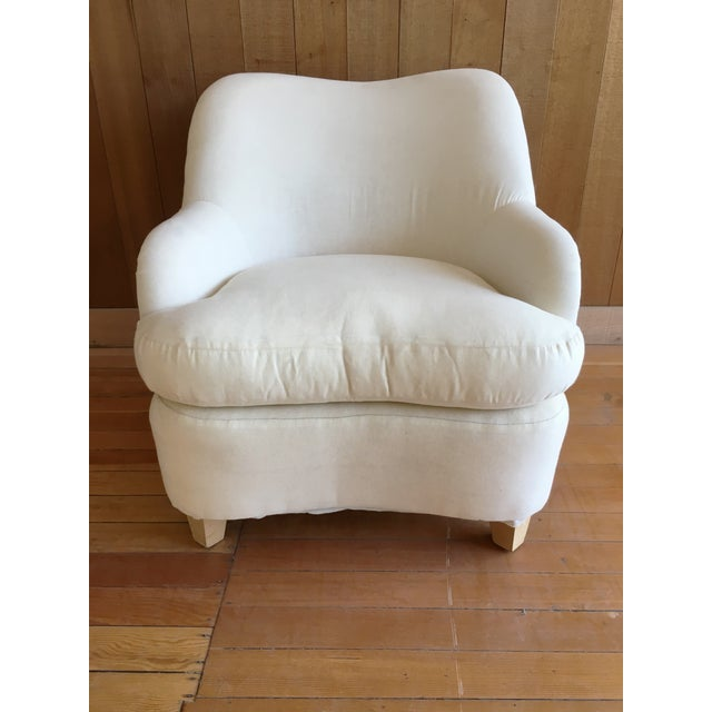 """""""Rounded"""" Chair + Custom Upholstery Service - Image 3 of 6"""