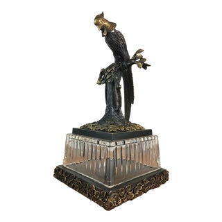 Bird Figurine on a Raised Pedestal