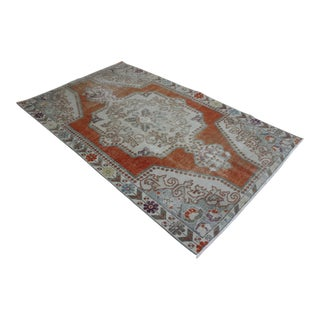 Oriental Turkish Rug - 4′6″ × 7′2″