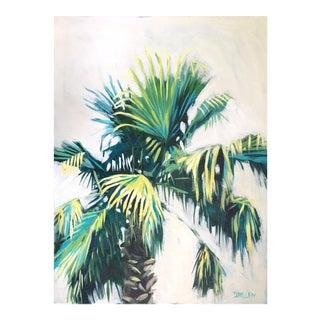"""""""Palm Tree 4"""" Original Acrylic Painting"""