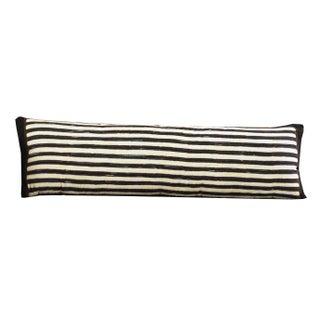 Batik Striped Lumbar Pillow