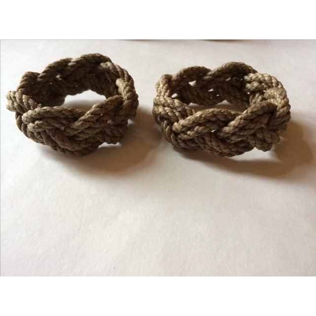 Nautical Knot Rope Napkin Holders - Set of 8 - Image 3 of 4