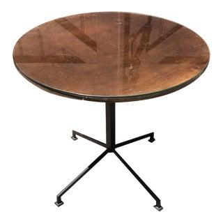 Mid-Century Wood Card Table