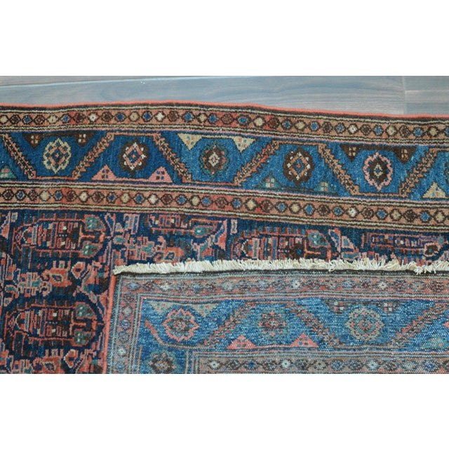 "Paisley Antique Persian Malayer Rug - 3'10"" X 6'4"" - Image 8 of 8"