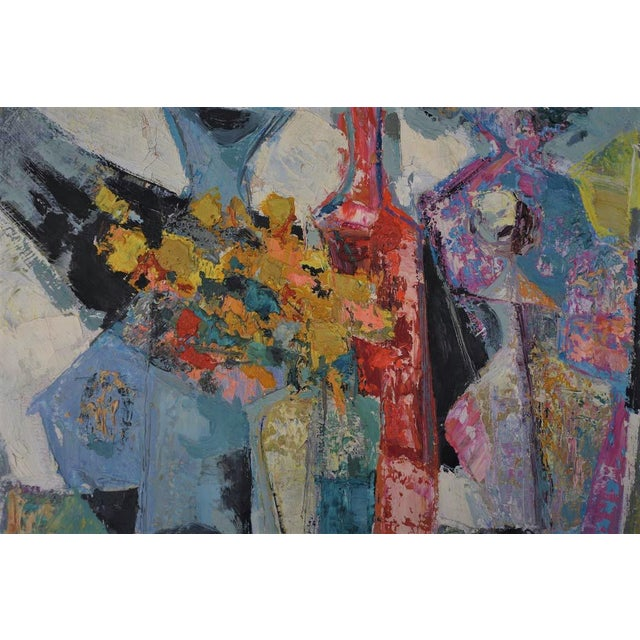 Rene Margotton Mid-Century Expressionist French Oil Painting - Image 2 of 5