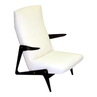 Important Pair of Armchairs Attributed to Alfred Hendrickx