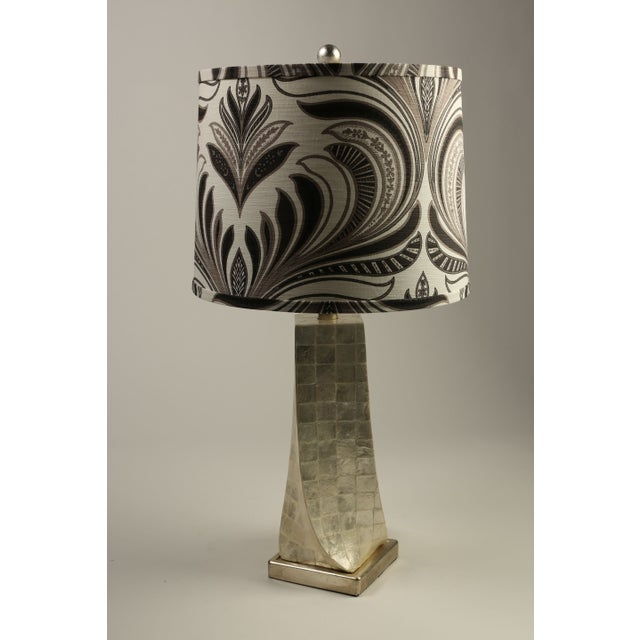 Cappa Shell Swirl Lamps - A Pair - Image 2 of 4