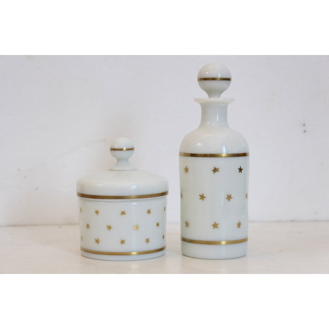 French Portieux Vallerysthal Vanity Set - A Pair - Image 2 of 5