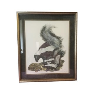 """""""Skunks"""" by Ray Harm, Limited Edition Print"""