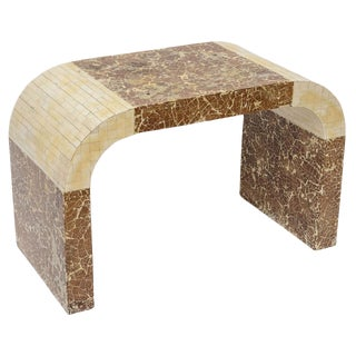 Coconut and Bone Waterfall Stool
