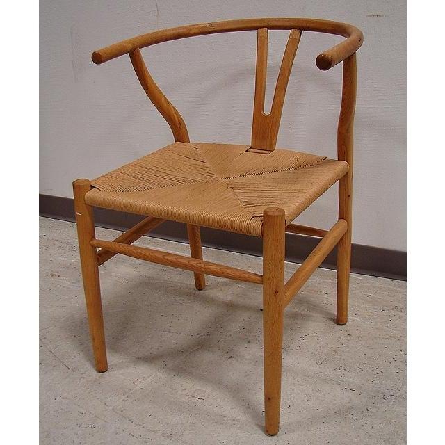 Hansen-Style Danish Rush Chairs - A Pair - Image 3 of 6