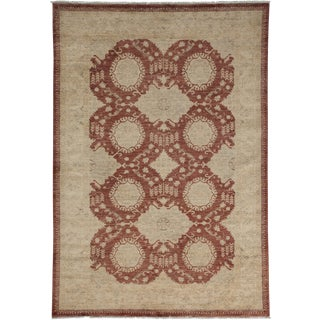 """Oushak Hand Knotted Area Rug - 5'0"""" X 7'2"""""""