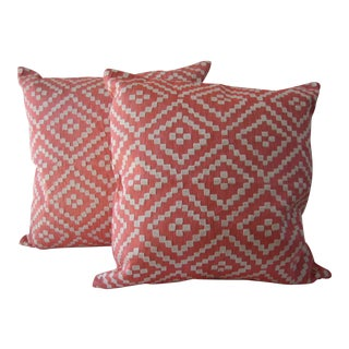 John Robshaw Alabat Euro Pillows - Pair