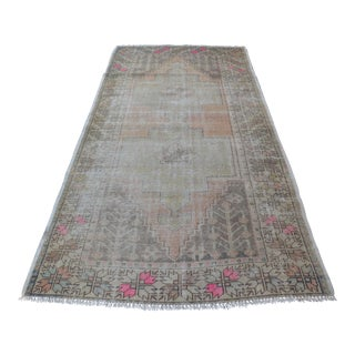 Turkish Boho Faded Rug - 4′3″ × 8′2″