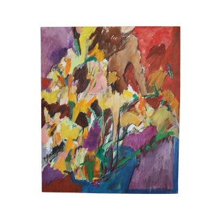 Modern Abstract Expressionist Oil Painting