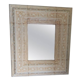 Large Decorative Tin Mirror