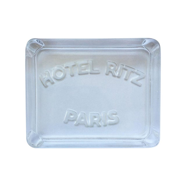 Image of Hotel Ritz Paris Glass Ashtray