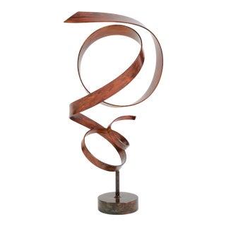Hephaestus Patinated Steel Sculpture by Joe Sorge