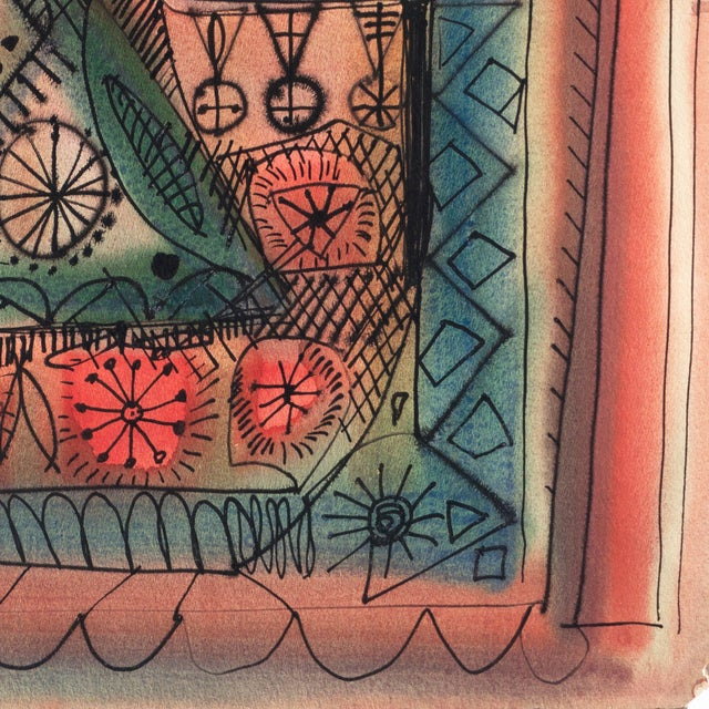 Robert Gilberg Vintage Dynamic Abstract - Image 4 of 7