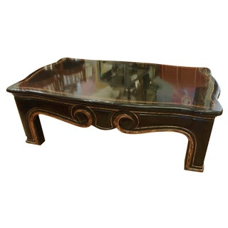Gregorius Pineo Black & Gold Coffee Table