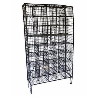 English Iron Industrial Wire Shelf