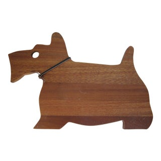 Scottie Dog Cutting Board