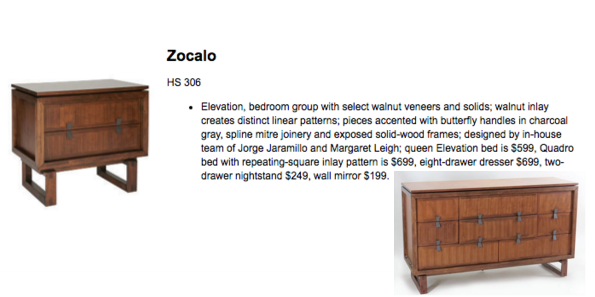Eight Drawer Dresser, Zocalo Elevation Collection   Image 6 Of 6