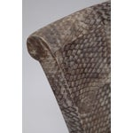 Image of Pair of Fishskin Covered Chairs