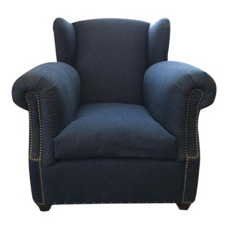 Ralph Lauren RLH Winged Club Chair