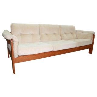 Danish Modern Three Seat Sofa by Neils Eilersen