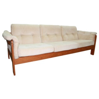 Danish Modern Three Seat Sofa by Neils Eilersen