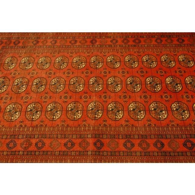 """Vintage Turkoman Tekeh Rug - 4'1"""" X 6'9"""" - Image 2 of 5"""