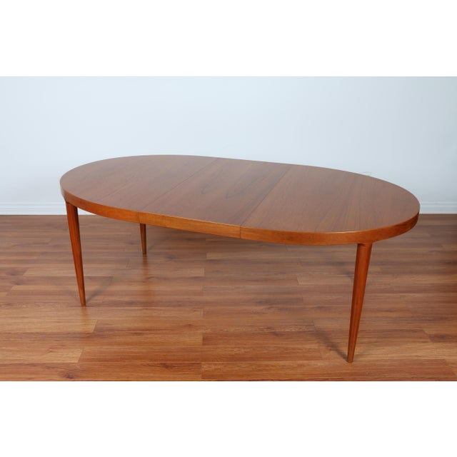 Image of Skovmand & Anderson Danish Mid Century Teak Dining Table