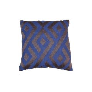 Stark Embroidered Ikat Pillow